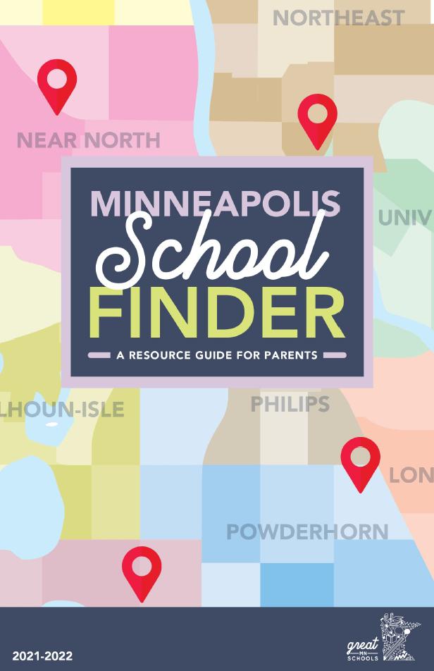 Minneapolis School Finder cover